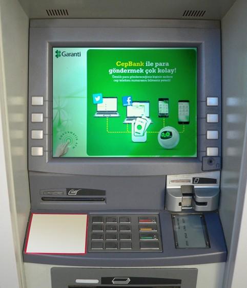 garanti bankasi atmden telefon guncelleme