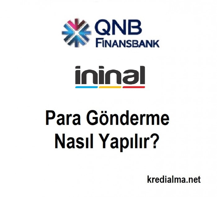qnb finansbank ininal karta para gonderme
