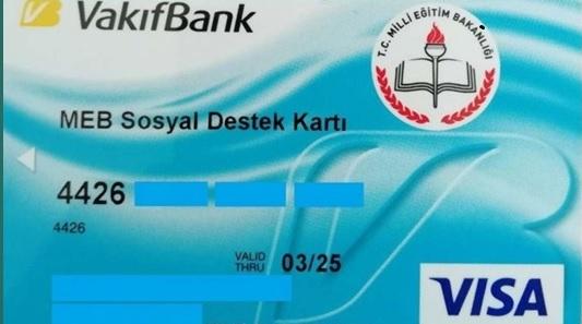 vakifbank bursluluk karti nedir