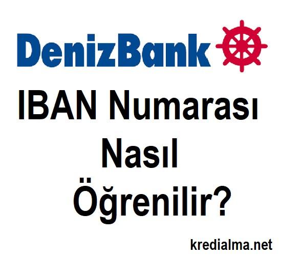 denizbank iban nasil ogrenirim 2