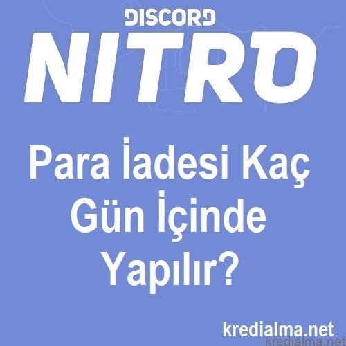discord nitro iptal ettikten kac gun sonra parasi iade edilir 1
