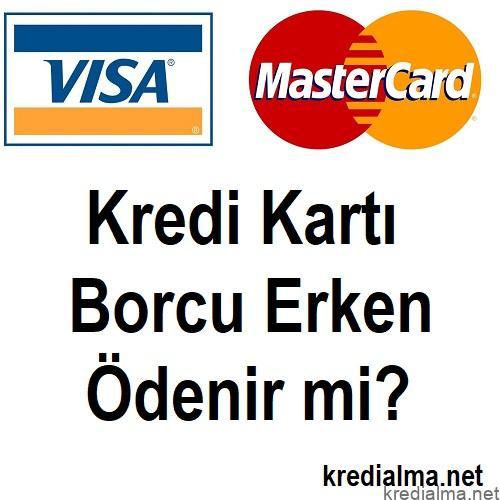 kredi karti borcunun tamami odenebilir mi